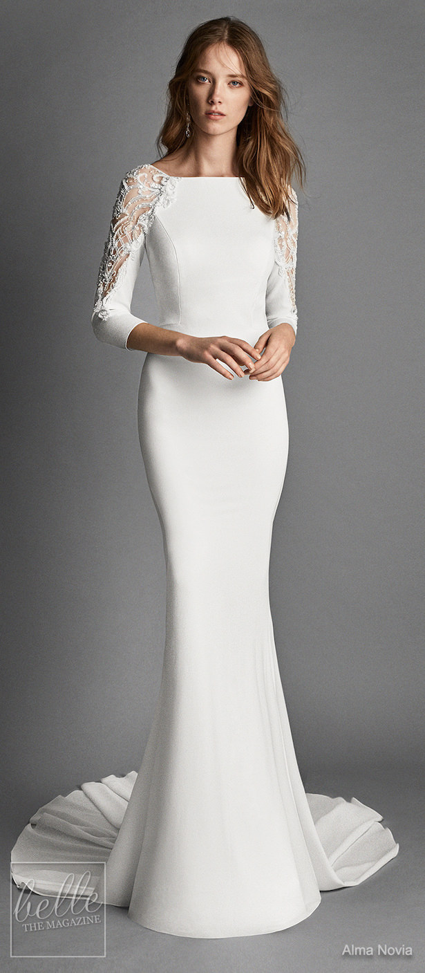 Simple Wedding Dresses Inspired by Meghan Markle - Alma Novia
