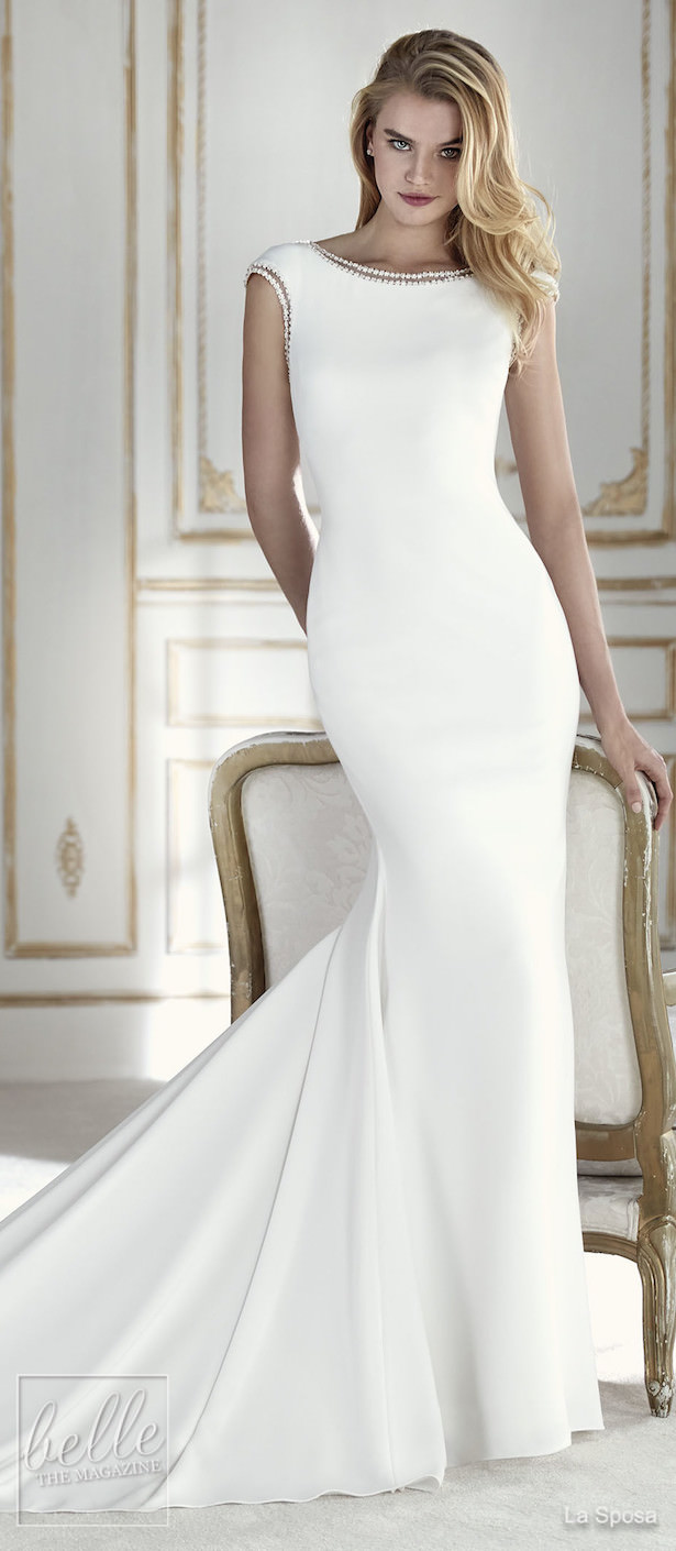 Simple Wedding Dresses Inspired by Meghan Markle - La Sposa
