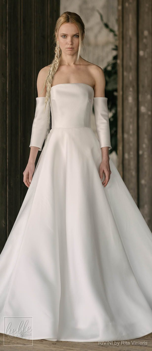 Simple Wedding Dresses Inspired by Meghan Markle - RIVINI by Rita Vinieris