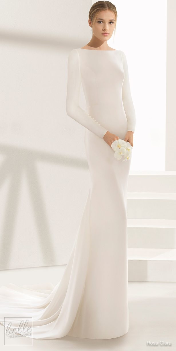 Simple Wedding Dresses Inspired by Meghan Markle - Rosa Clara