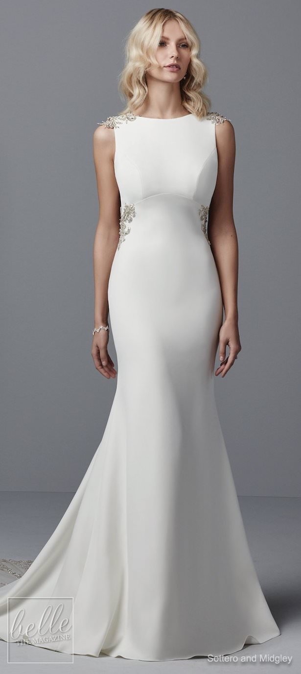 Simple Wedding Dresses Inspired by Meghan Markle - Sottero and Midgley