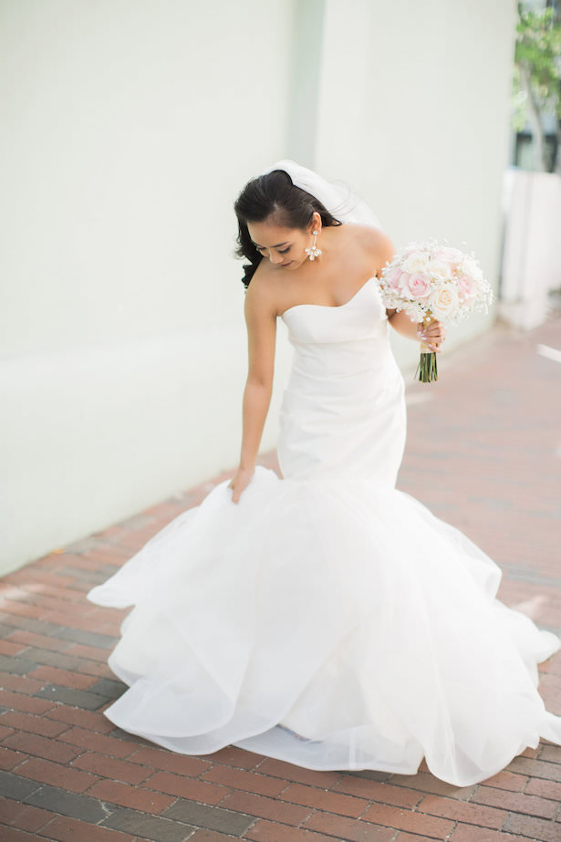 Simple mermaid wedding dress - Brooke Images