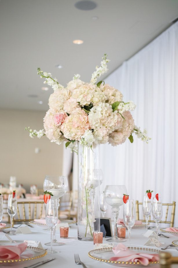 Tall Wedding centerpiece - Lifelong Photography Studio