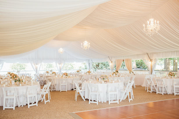 Tent wedding reception - Rachel Figueroa Photography