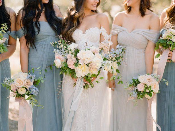 Tulle Bridesmaid Dresses - 016. Styled by TC - Shane and Lauren Photography