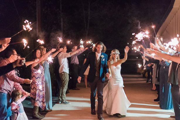 Wedding Photo Exit with Sparklers - Juicebeats Photography