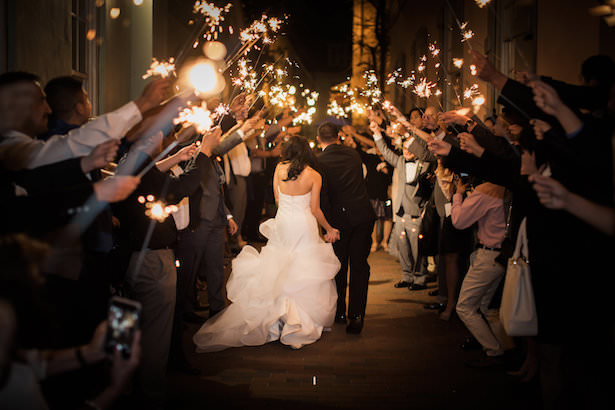 Wedding Sparklers - Brooke Images