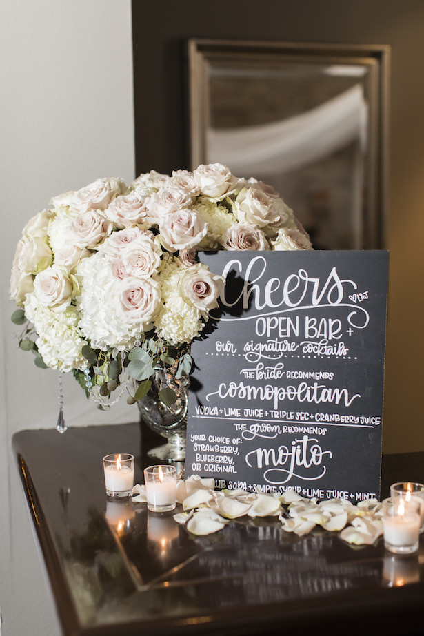 Wedding decor and sign - Aislinn Kate Photography