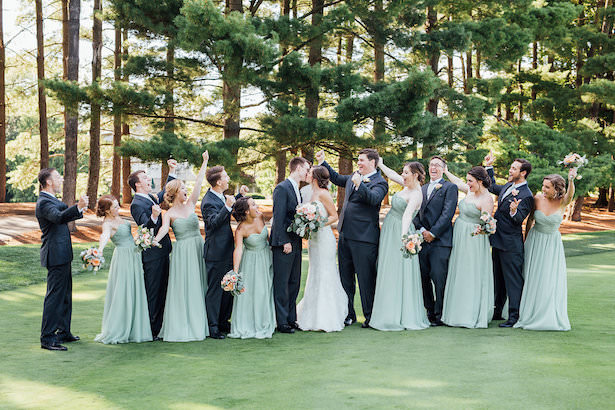 Wedding party picture - Rachel Figueroa Photography