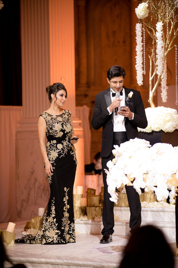 Wedding reception speech - Photo: Hollywood Pro Weddings