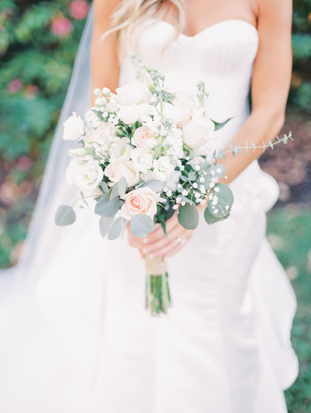 White Wedding Bouquet - - Juicebeats Photography