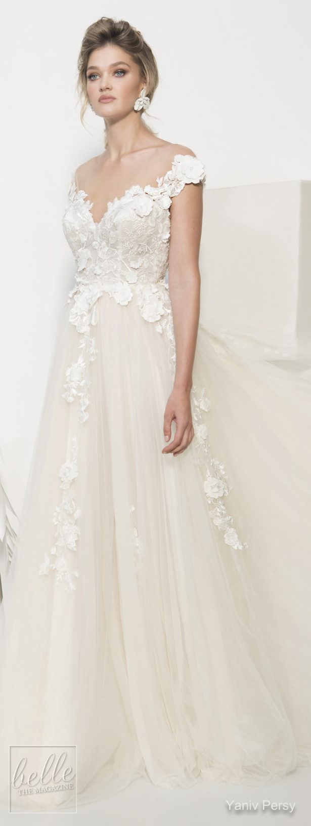 Yaniv Persy Wedding Dresses Spring 2019 - Couture Bridal Collection