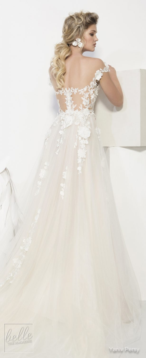yaniv persy wedding dresses spring 2019 bridal collection
