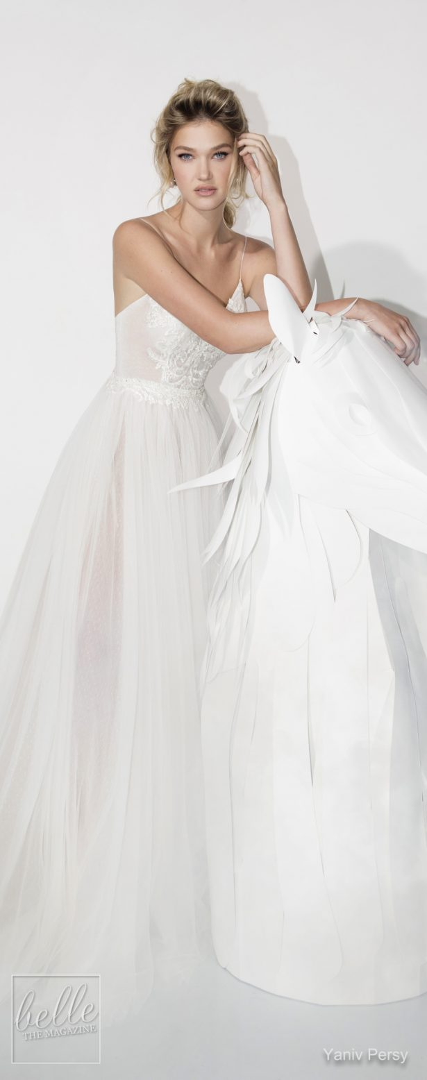 Yaniv Persy Wedding Dresses Spring 2019 - Lavish Bridal Collection