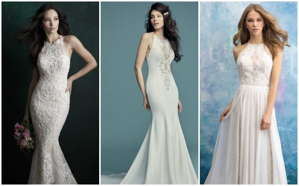 Bridal Trends: Halter Wedding Dresses