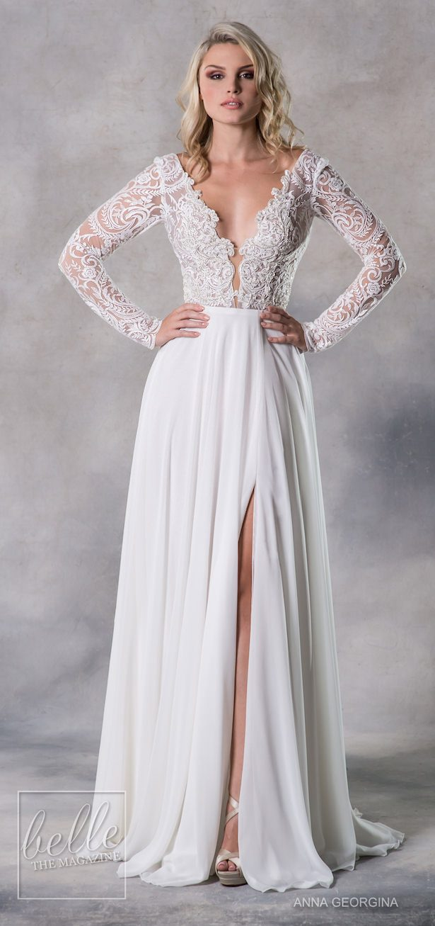 Anna Georgina 2019 Wedding Dresses Casablanca Bridal Collection - Taylor