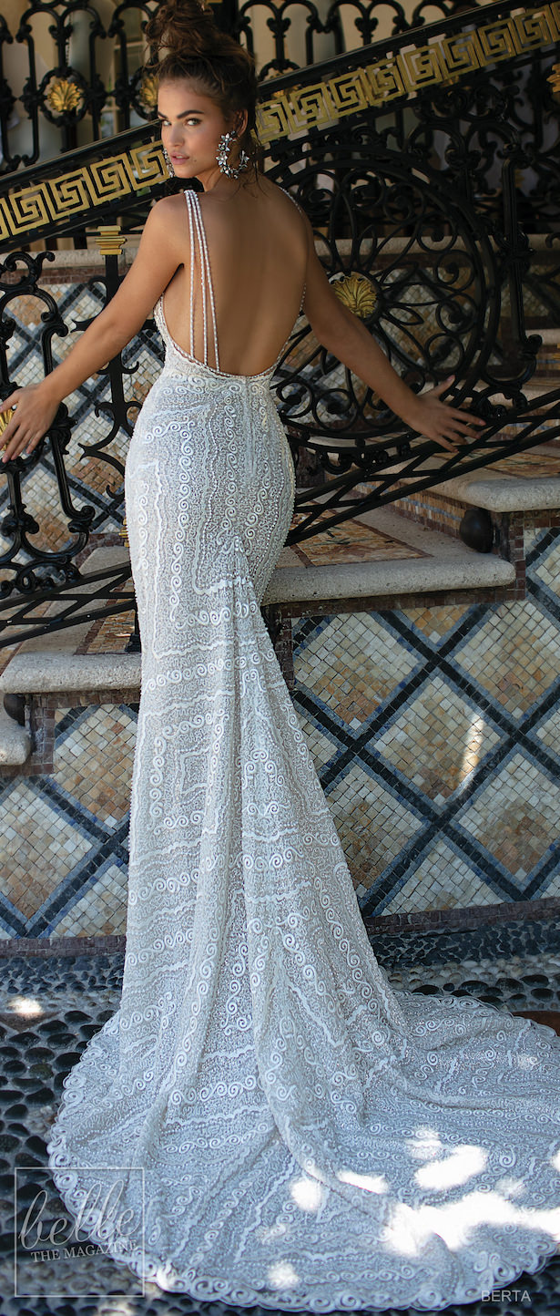 BERTA Spring 2019 Wedding Dress Miami Bridal Collection