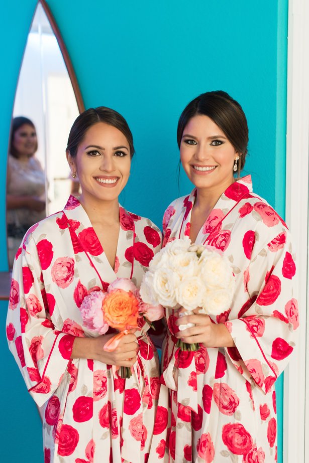Bridal party robes - Photo: Pablo Díaz