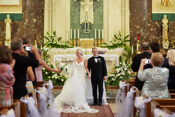Church wedding ceremony - Wasio Photography