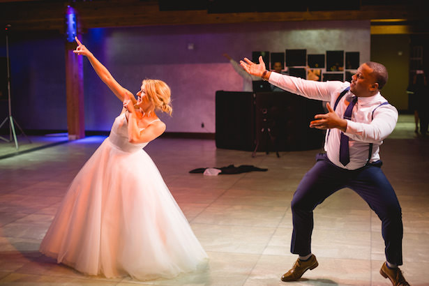 Fun wedding photo - first dance - Photography: Rochelle Louise
