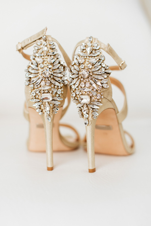 Glamorous Wedding Shoes - Photo: Pablo Díaz