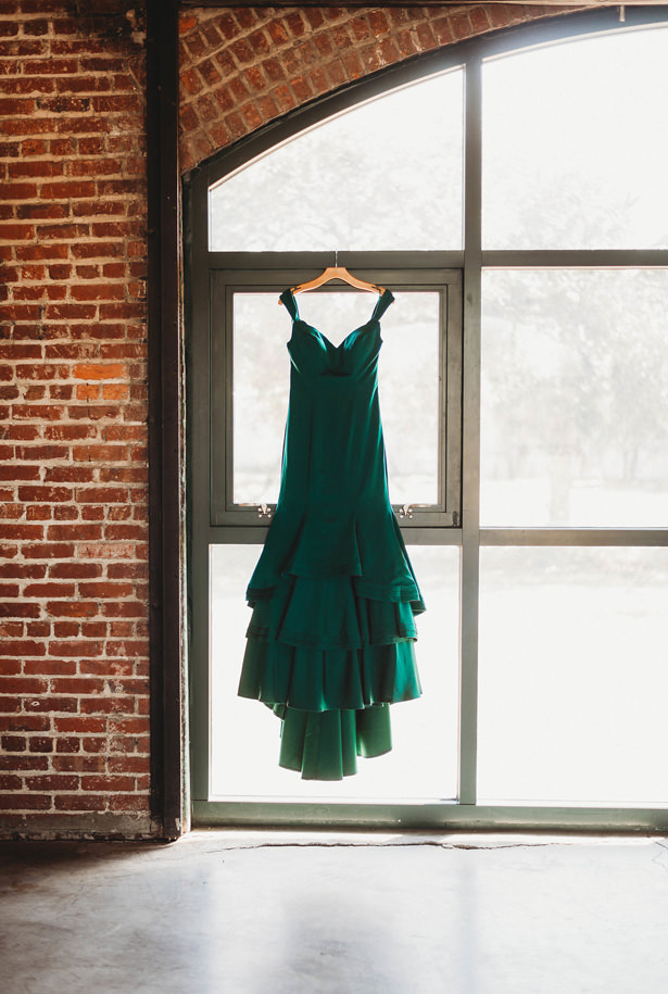 Green Engagement Dress - Photography: Dewitt for Love LL