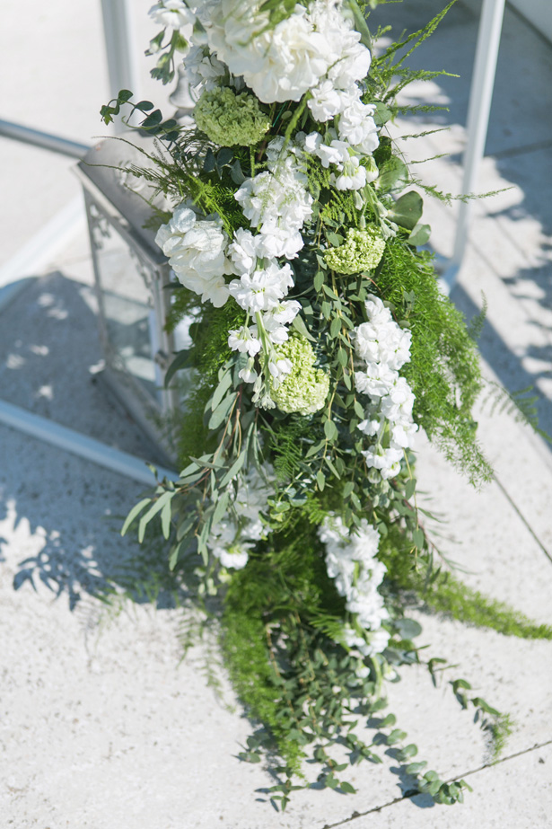 Greenery Wedding Flowers - Nora Photography