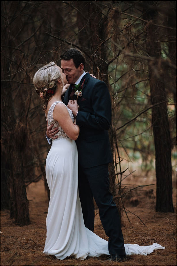 Romantic Forest Wedding Photo - The Shank Tank