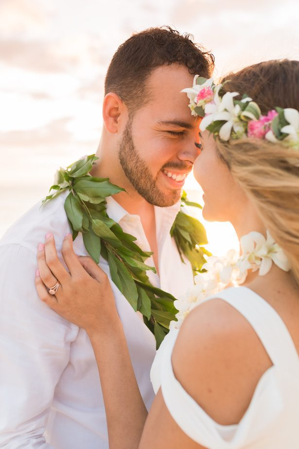 Gorgeous Hawaii Elopement