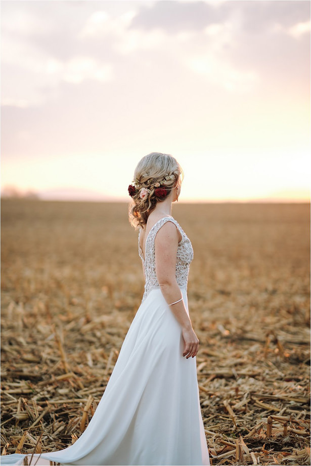 Rustic BoHo Wedding Dress - The Shank Tank