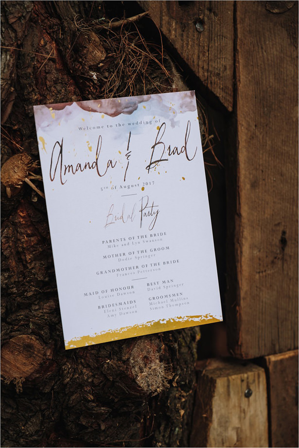 Rustic Wedding Invitation - The Shank Tank