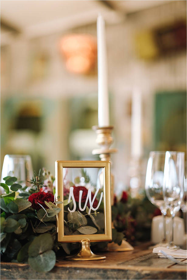 Simple rustic wedding centerpiece - The Shank Tank