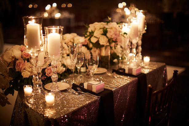 Timeless wedding table decor - Wasio Photography