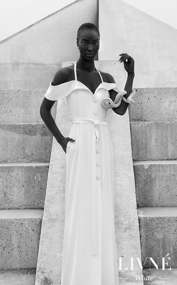 Wedding Dress by Livne White - NOMI