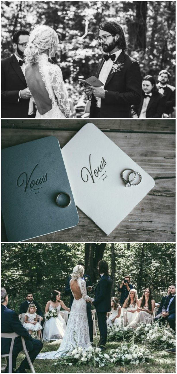 Wedding Vows - Emmy Lowe Photography