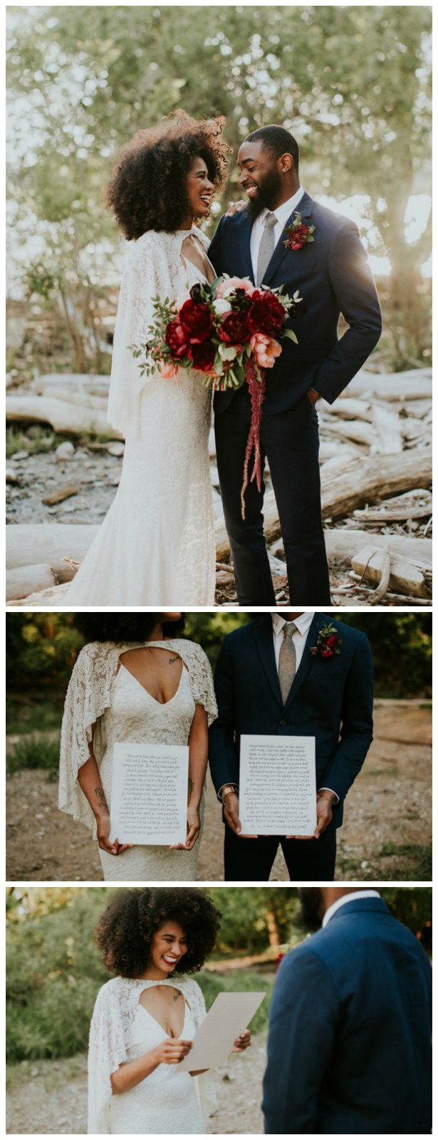 Wedding Vows - Erin Trimble Photography