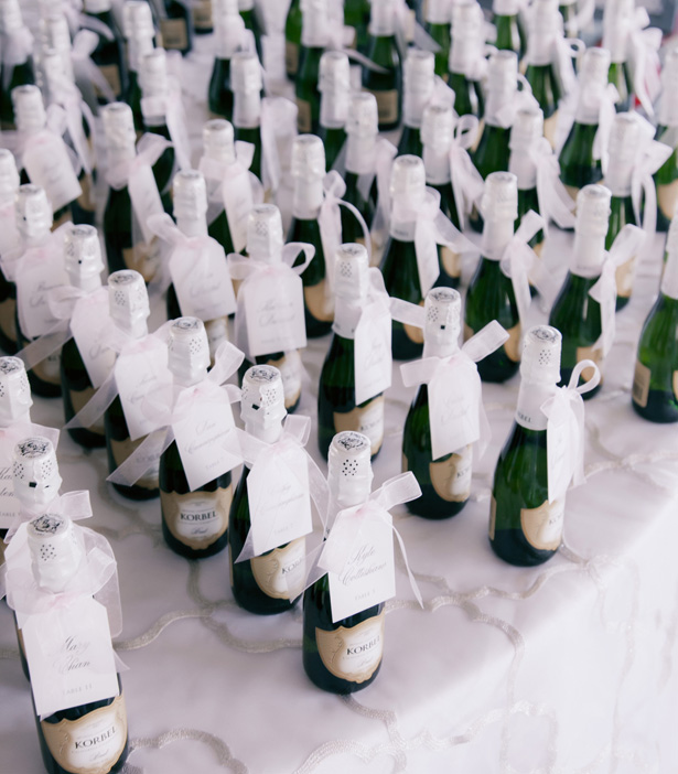 Wedding champagne - Clane Gessel Photography