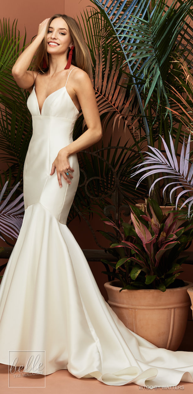 Wtoo by Watters Wedding Dress Collection Fall 2018 - Avery