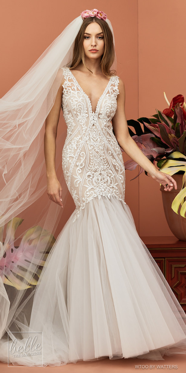 Wtoo by Watters Wedding Dress Collection Fall 2018 - Blanca
