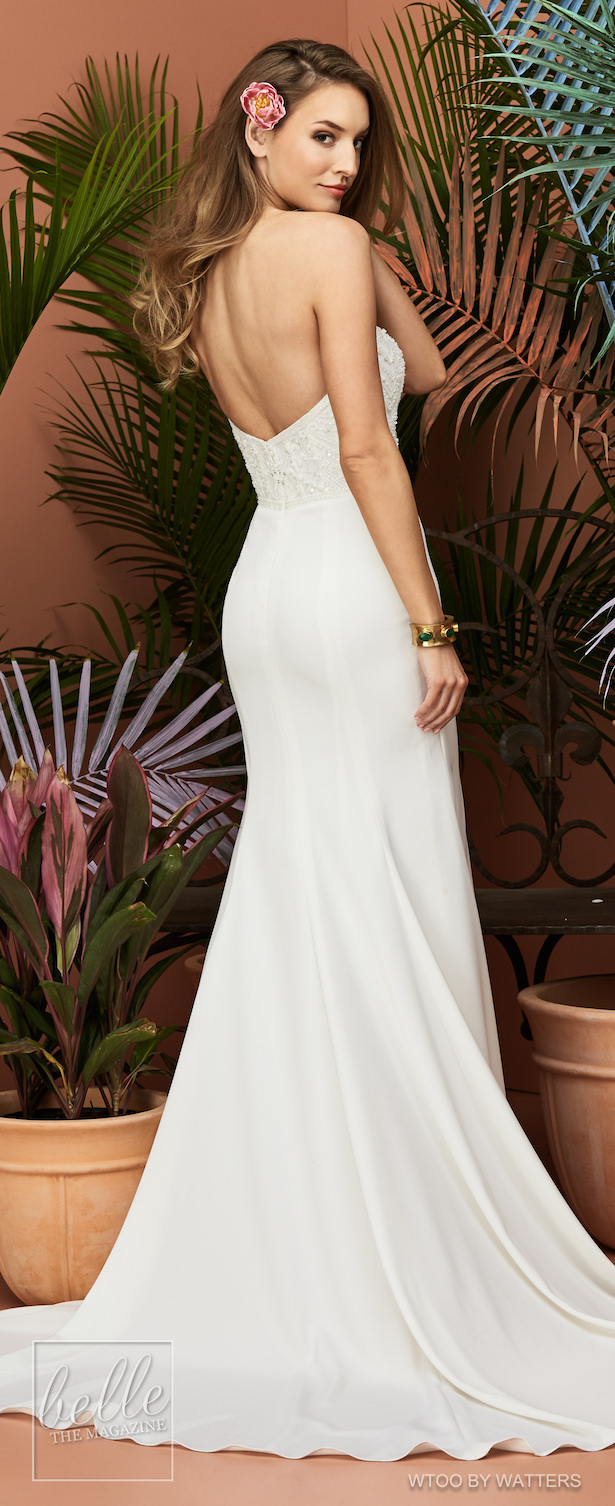 Wtoo by Watters Wedding Dress Collection Fall 2018 - Chessy