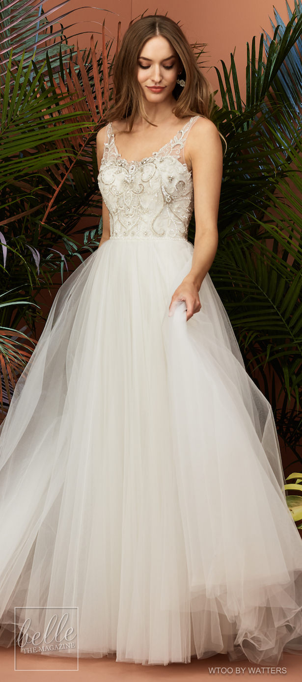 Wtoo by Watters Wedding Dress Collection Fall 2018 - Constanza