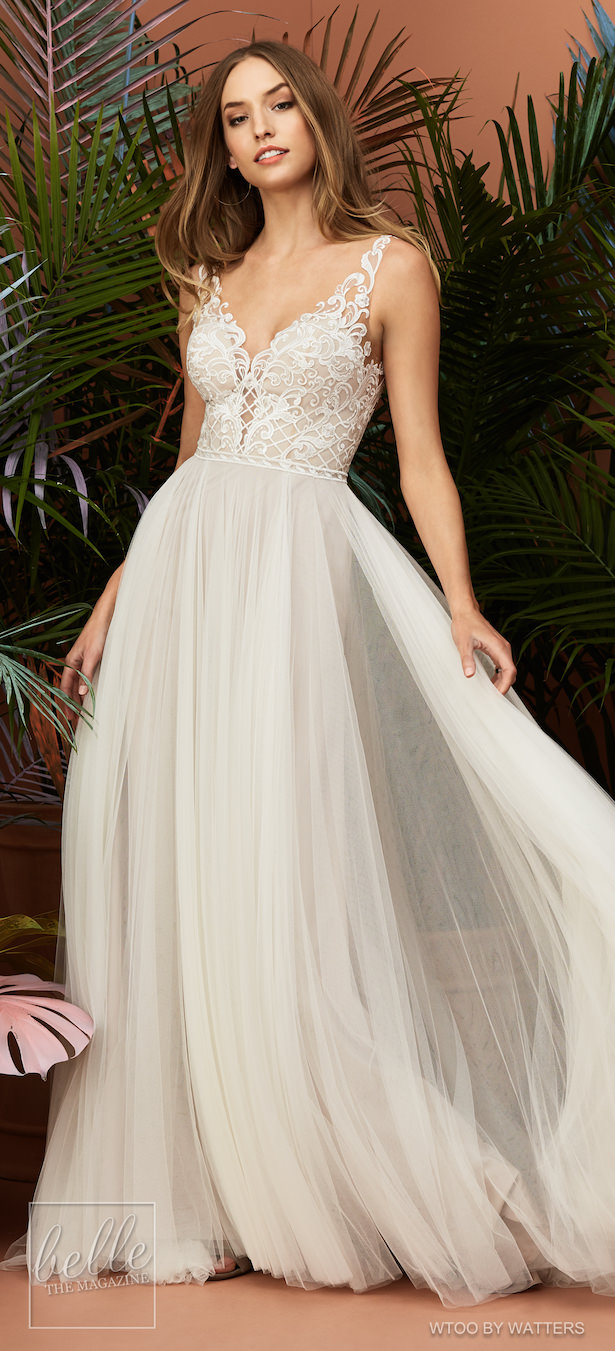 Wtoo by Watters Wedding Dress Collection Fall 2018 - Huxley