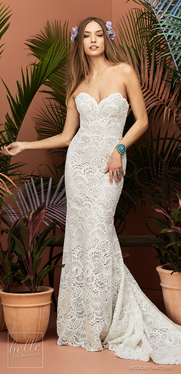 Wtoo by Watters Wedding Dress Collection Fall 2018 - Lineisy