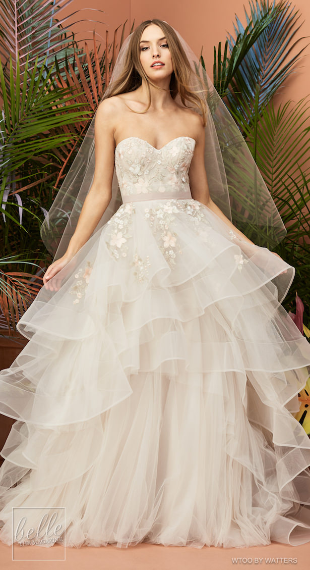 a39152ca648 Wtoo by Watters Wedding Dress Collection Fall 2018 - Yocelyn Muscat ...