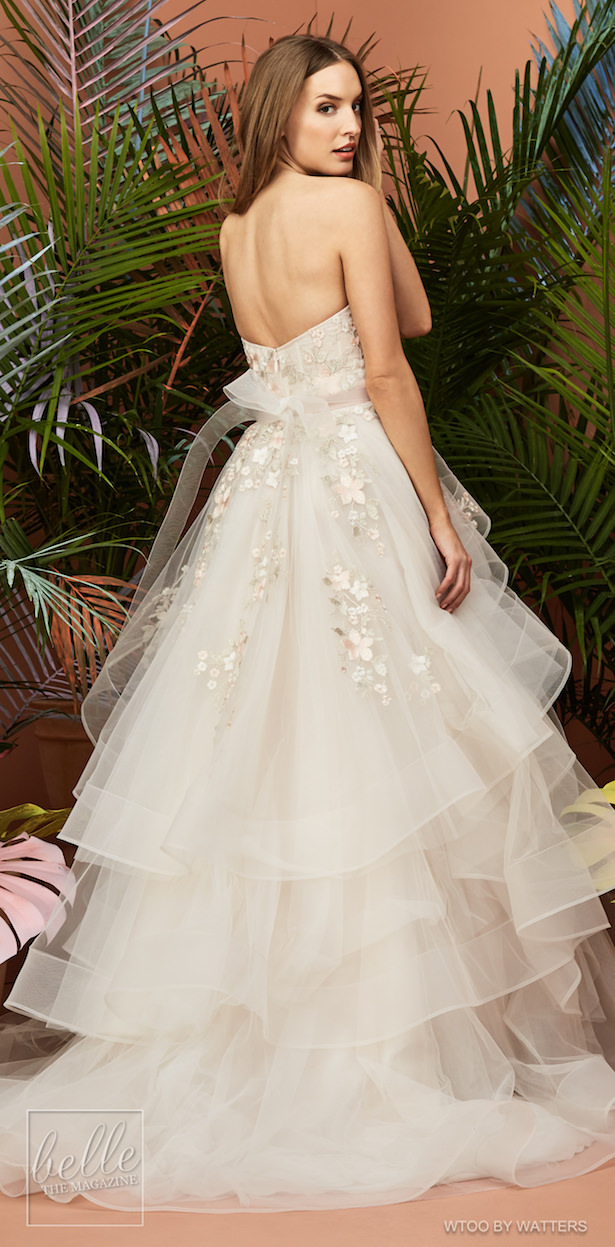 Wtoo by Watters Wedding Dress Collection Fall 2018 - Yocelyn Muscat
