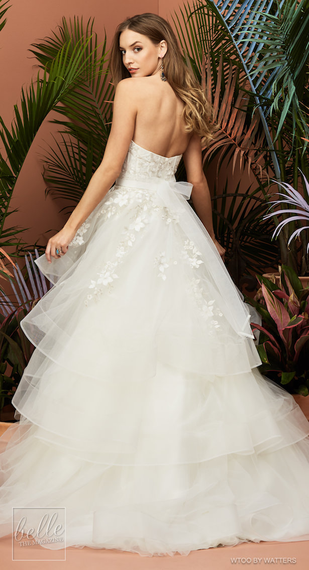 Wtoo by Watters Wedding Dress Collection Fall 2018 - Yocelyn