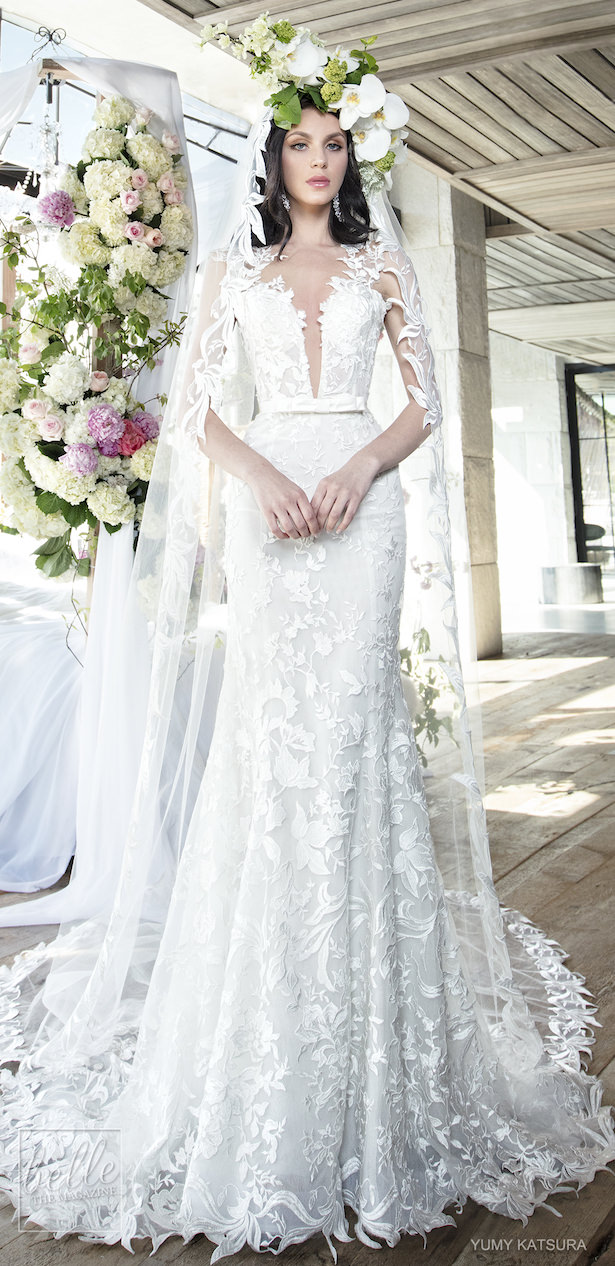 Yumi Katsura Spring 2019 Wedding Dresses Life Is A Garden Bridal Collection - FELICITY WITH VEIL