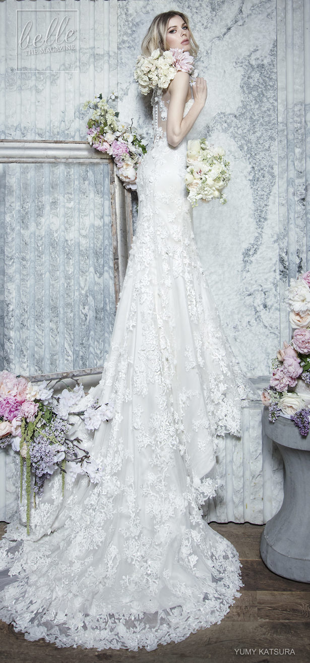 Yumi Katsura Spring 2019 Wedding Dresses Life Is A Garden Bridal Collection - GAEL