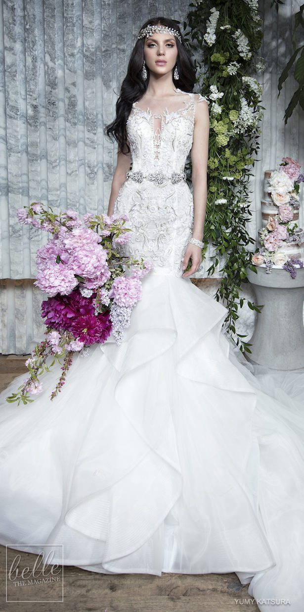 Yumi Katsura Spring 2019 Wedding Dresses Life Is A Garden Bridal Collection - GEMY