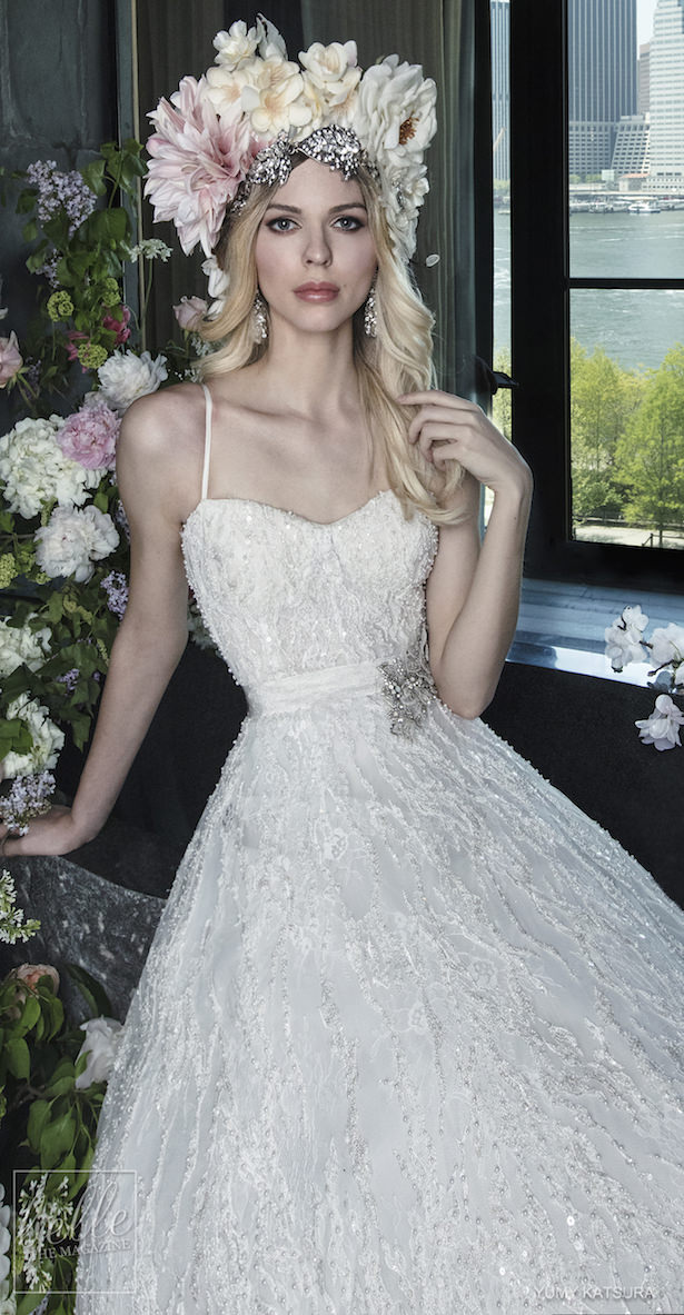 Yumi Katsura Spring 2019 Wedding Dresses Life Is A Garden Bridal Collection - GIGI